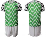 Wholesale Cheap Nigeria Blank Home Soccer Country Jersey