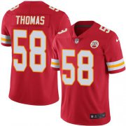 Wholesale Cheap Nike Chiefs #58 Derrick Thomas Red Team Color Men's Stitched NFL Vapor Untouchable Limited Jersey