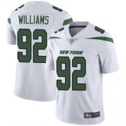 Wholesale Cheap Nike Jets #92 Leonard Williams White Youth Stitched NFL Vapor Untouchable Limited Jersey