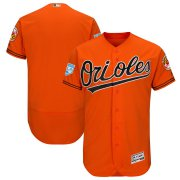 Wholesale Cheap Orioles Blank Orange 2019 Spring Training Flex Base Stitched MLB Jersey