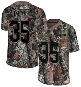 Wholesale Cheap Nike Chiefs #35 Christian Okoye Camo Men\'s Stitched NFL Limited Rush Realtree Jersey