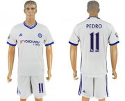 Wholesale Cheap Chelsea #11 Pedro White Soccer Club Jersey