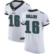 Wholesale Cheap Nike Eagles #16 Mack Hollins White Men's Stitched NFL Vapor Untouchable Elite Jersey