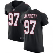 Wholesale Cheap Nike Falcons #97 Grady Jarrett Black Alternate Men's Stitched NFL Vapor Untouchable Elite Jersey