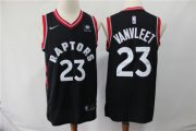 Wholesale Cheap Raptors 23 Fred Vanvleet Black Nike Swingman Jersey
