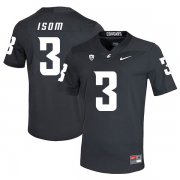 Wholesale Cheap Washington State Cougars 3 Daniel Isom Black College Football Jersey