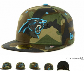 Wholesale Cheap Carolina Panthers fitted hats 09