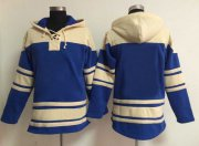Wholesale Cheap Royals Blank Light Blue Sawyer Hooded Sweatshirt MLB Hoodie