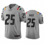 Wholesale Cheap Indianapolis Colts #25 Marlon Mack Gray Vapor Limited City Edition NFL Jersey