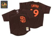 Wholesale Cheap Mitchell And Ness 1985 Padres #19 Tony Gwynn Brown Throwback Stitched MLB Jersey