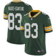 Wholesale Cheap Nike Packers #83 Marquez Valdes-Scantling Green Team Color Men's Stitched NFL Vapor Untouchable Limited Jersey