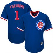 Wholesale Cheap Cubs #1 Kosuke Fukudome Blue Flexbase Authentic Collection Cooperstown Stitched MLB Jersey