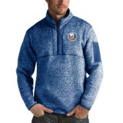Wholesale Cheap New York Islanders Antigua Fortune Quarter-Zip Pullover Jacket Blue