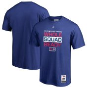 Wholesale Cheap Chicago Cubs Majestic 2019 Spring Training Authentic Collection T-Shirt Royal