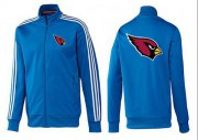 Wholesale Cheap NFL Arizona Cardinals Team Logo Jacket Blue_1