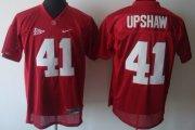 Wholesale Cheap Alabama Crimson Tide #41 Courtney Upshaw Red Jersey