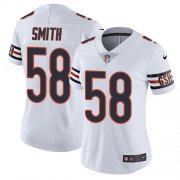 Wholesale Cheap Nike Bears #58 Roquan Smith White Women's Stitched NFL Vapor Untouchable Limited Jersey