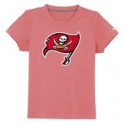 Wholesale Cheap Tampa Bay Buccaneers Sideline Legend Authentic Logo Youth T-Shirt Pink