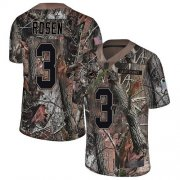 Wholesale Cheap Nike Dolphins #3 Josh Rosen Camo Men's Stitched NFL Limited Rush Realtree Jersey