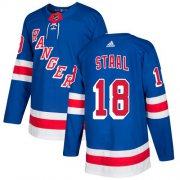 Wholesale Cheap Adidas Rangers #18 Marc Staal Royal Blue Home Authentic Stitched Youth NHL Jersey