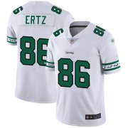 Wholesale Cheap Nike Eagles #86 Zach Ertz White Men's Stitched NFL Limited Team Logo Fashion Jersey