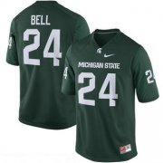 Wholesale Cheap Men's Michigan State Spartans #24 Le'Veon Bell Green Limited Stitched College Football 2016 Nike NCAA Jersey