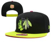 Wholesale Cheap Chicago Blackhawks Snapback Ajustable Cap Hat YD 1
