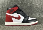 Wholesale Cheap Air Jordan 1 Retro Black toe Red/White-Black