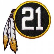 Wholesale Cheap Stitched NFL Washington Redskins 21st Seasons Jersey Patch