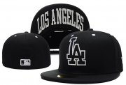 Wholesale Cheap Los Angeles Dodgers fitted hats 09