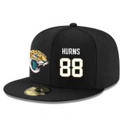 Wholesale Cheap Jacksonville Jaguars #88 Allen Hurns Snapback Cap NFL Player Black with White Number Stitched Hat