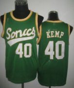 Wholesale Cheap Seattle Supersonics #40 Shawn Kemp 2003-04 Green Swingman Jersey