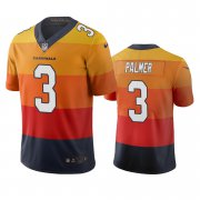 Wholesale Cheap Arizona Cardinals #3 Carson Palmer Sunset Orange Vapor Limited City Edition NFL Jersey