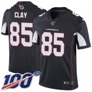 Wholesale Cheap Nike Cardinals #85 Charles Clay Black Alternate Men's Stitched NFL 100th Season Vapor Limited Jersey