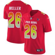Wholesale Cheap Nike Texans #26 Lamar Miller Red Youth Stitched NFL Limited AFC 2019 Pro Bowl Jersey