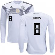 Wholesale Cheap Germany #8 Kroos Home Long Sleeves Kid Soccer Country Jersey