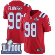 Wholesale Cheap Nike Patriots #98 Trey Flowers Red Alternate Super Bowl LIII Bound Youth Stitched NFL Vapor Untouchable Limited Jersey