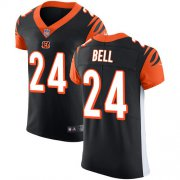 Wholesale Cheap Nike Bengals #24 Vonn Bell Black Team Color Men's Stitched NFL Vapor Untouchable Elite Jersey