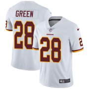 Wholesale Cheap Nike Redskins #28 Darrell Green White Men's Stitched NFL Vapor Untouchable Limited Jersey