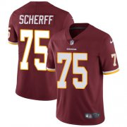 Wholesale Cheap Nike Redskins #75 Brandon Scherff Burgundy Red Team Color Youth Stitched NFL Vapor Untouchable Limited Jersey