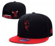 Wholesale Cheap NBA Chicago Bulls Snapback Ajustable Cap Hat DF 03-13_23