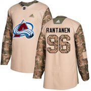 Wholesale Cheap Adidas Avalanche #96 Mikko Rantanen Camo Authentic 2017 Veterans Day Stitched NHL Jersey