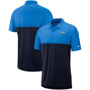 Wholesale Cheap Los Angeles Chargers Nike Sideline Early Season Performance Polo Light Blue Navy
