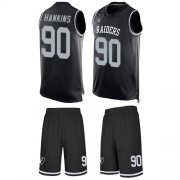 Wholesale Cheap Nike Raiders #90 Johnathan Hankins Black Team Color Men's Stitched NFL Limited Tank Top Suit Jersey