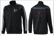 Wholesale Cheap NFL Atlanta Falcons Heart Jacket Black_2