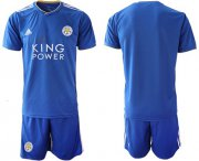 Wholesale Cheap Leicester City Blank Home Soccer Club Jersey
