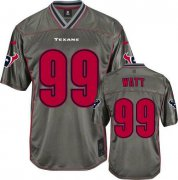 Wholesale Cheap Nike Texans #99 J.J. Watt Grey Youth Stitched NFL Elite Vapor Jersey