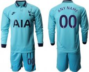 Wholesale Cheap Tottenham Hotspur Personalized Third Long Sleeves Soccer Club Jersey