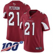 Wholesale Cheap Nike Cardinals #21 Patrick Peterson Red Team Color Men's Stitched NFL 100th Season Vapor Limited Jersey