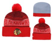 Wholesale Cheap NHL CHICAGO BLACKHAWKS Beanies